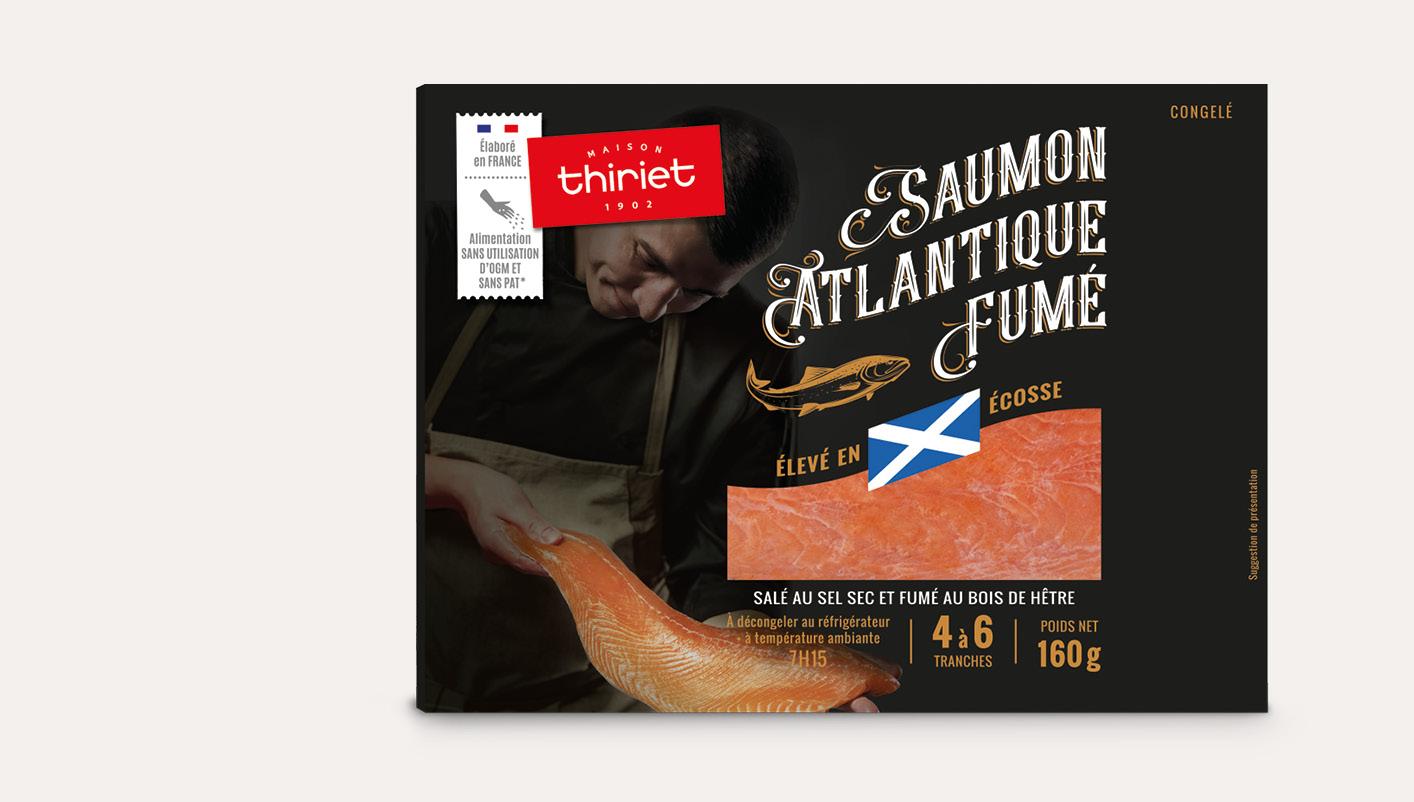 Saumon Atlantique fumé - Ecosse