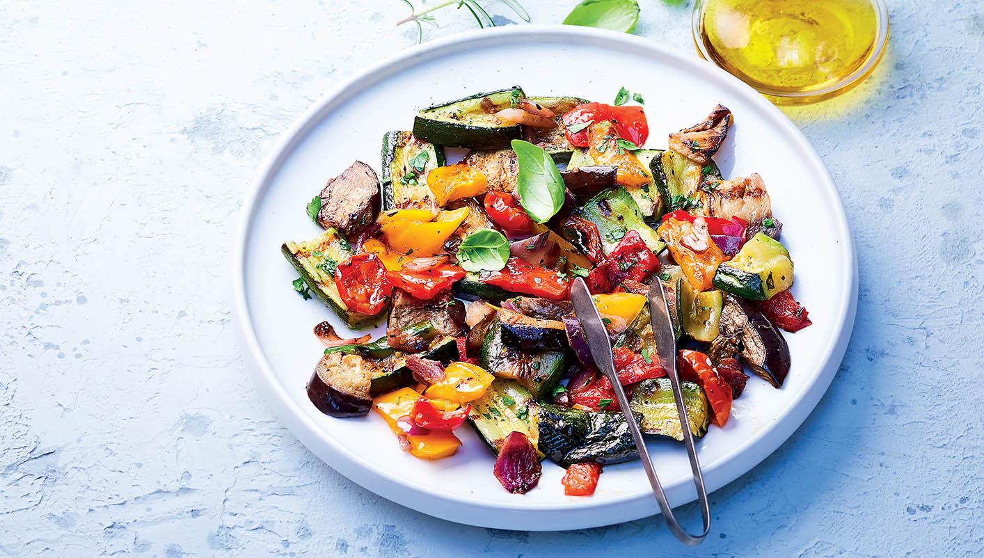 Légumes du soleil pour plancha