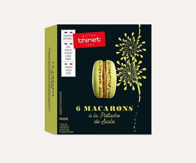 6 Macarons à la pistache