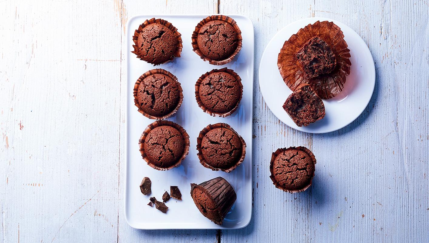 9 Mini fondants au chocolat