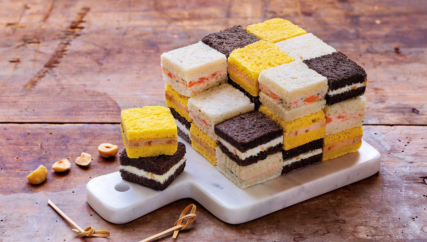Cube surprise™ 27 sandwichs