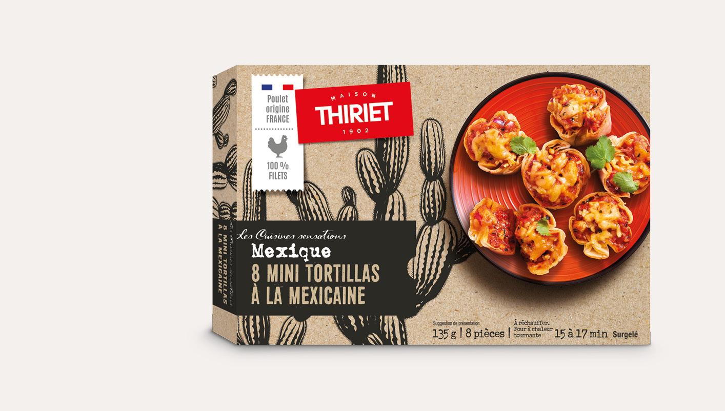 8 Mini tortillas à la mexicaine