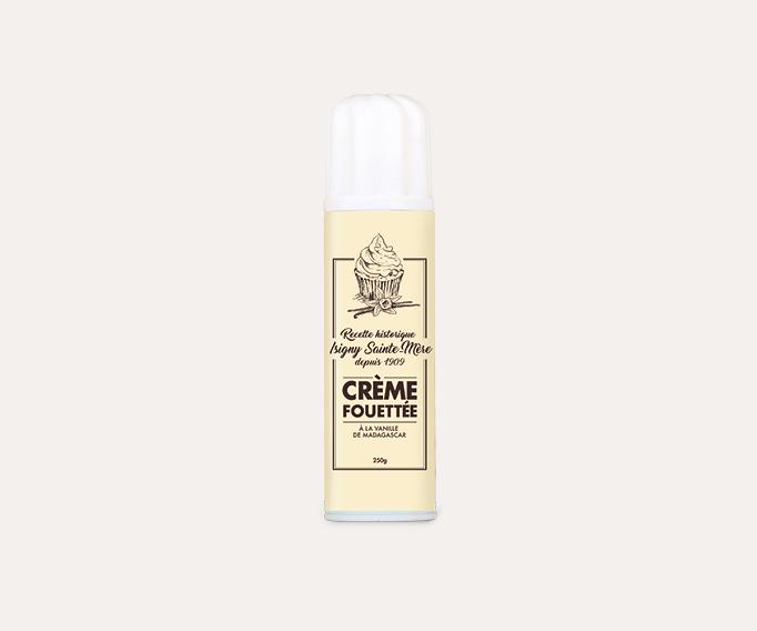 Crème chantilly Isigny Ste mère à la vanille de Madagascar