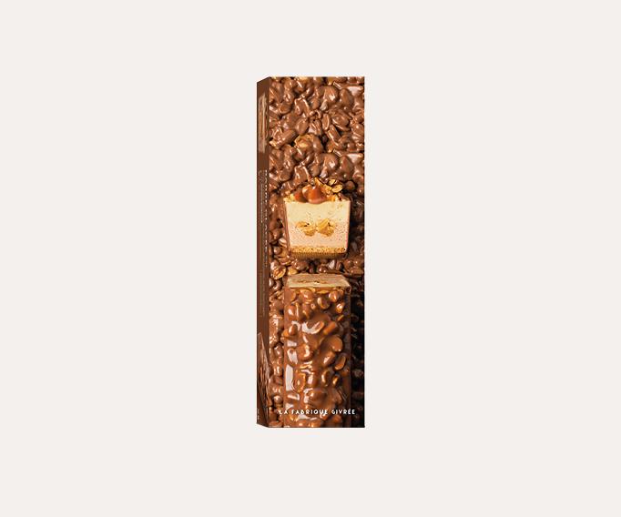 Barre glacée XXL cacahuète/caramel