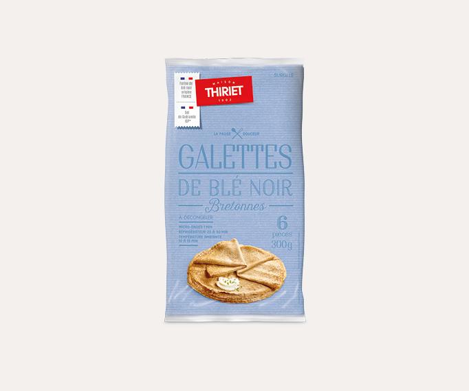 6 Galettes bretonnes de blé noir