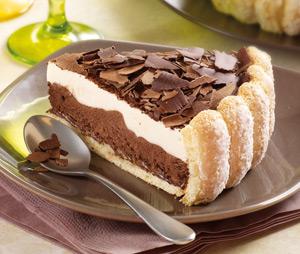 Charlotte chocolat - Recette charlotte au chocolat ...