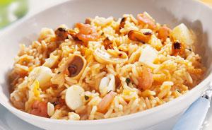 risotto aux fruits de mer surgel gamme offres du mois sur thiriet. Black Bedroom Furniture Sets. Home Design Ideas
