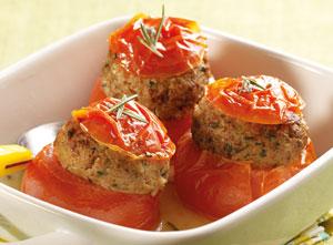 4 tomates farcies surgel gamme offres du mois sur thiriet. Black Bedroom Furniture Sets. Home Design Ideas