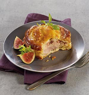 2 tourtes caille bloc de foie gras de canard surgel gamme entr es snacking tartes sur thiriet. Black Bedroom Furniture Sets. Home Design Ideas