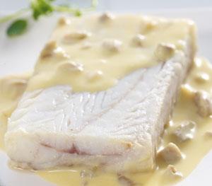 Colin d 39 alaska sauce bretonne surgel gamme poissons - Cuisiner du colin surgele ...