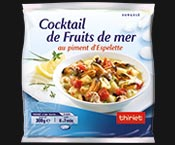 cocktail de fruits de mer au piment d espelette surgel 233 gamme poissons crustac 233 s sur thiriet