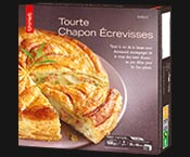 Tourte chapon/écrevisses