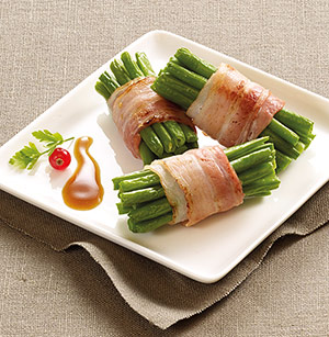 6 fagots de haricots verts extra fins surgel gamme l gumes fruits aides culinaires sur thiriet - Haricot vert fruit ou legume ...