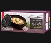 2 Cocottes aux ris de veau, sauce Pineau Charentes