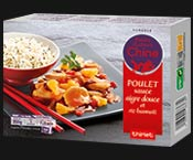 Poulet sauce aigre douce et riz basmati