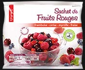 Sachet de fruits rouges