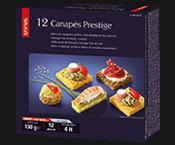 12 Canapés Prestige