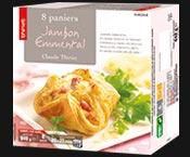 8 Paniers jambon/emmental