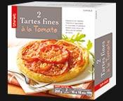 2 Tartes fines à la tomate