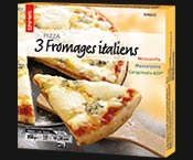 Pizza 3 fromages italiens