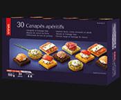 30 Canapés apéritifs
