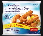 Aiguillettes de merlu blanc du Cap + 20% gratuit