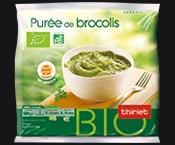 Purée de brocolis biologique