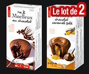 Lot de 2 boites de moelleux : 5.98€ seulement !