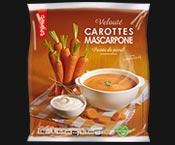 Velouté de carottes au mascarpone