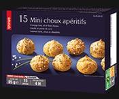 15 Mini choux apéritifs