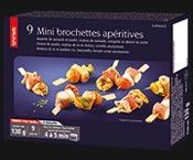 9 Mini brochettes apéritives