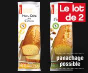 Lot de 2 financiers ou cakes : 6.30€ seulement !