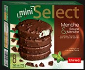 8 Select™ Mini bâtonnets Menthe/chocolat
