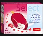 4 Select™ Frozen Yogurt framboise