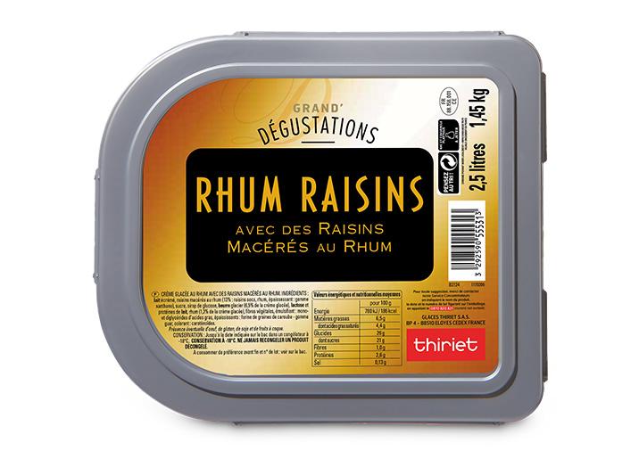 Grand'Dégustations™ Maxi Rhum Raisins