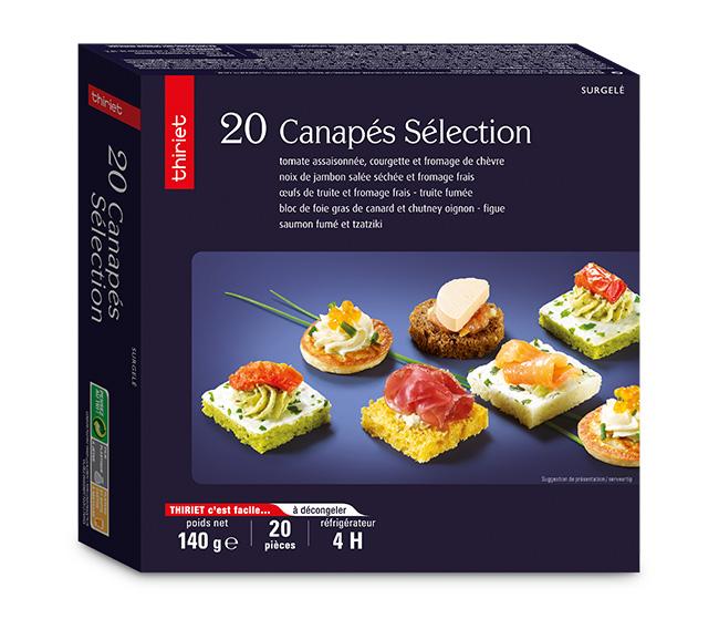 20 Canapés sélection