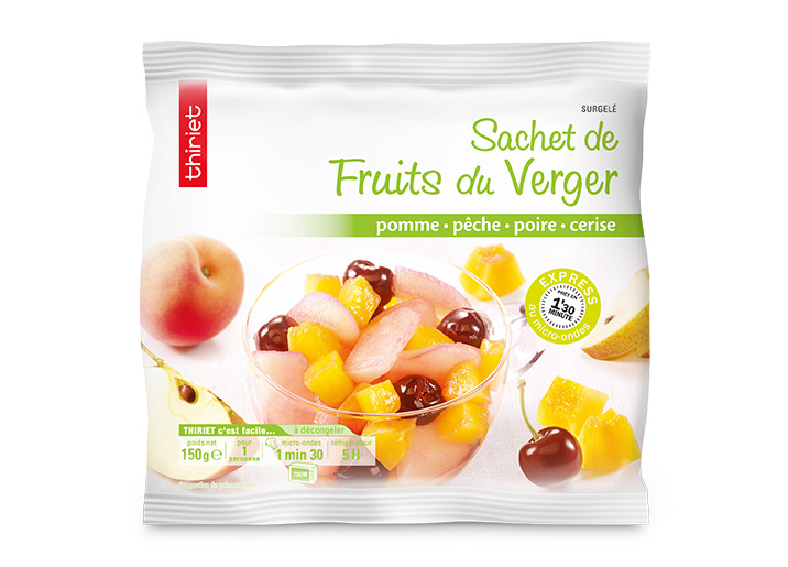 Sachet de fruits du verger