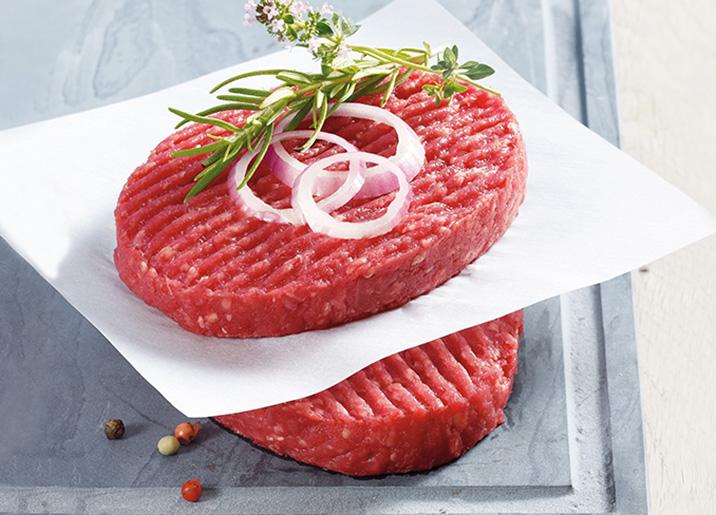 10 Steaks hachés pur boeuf 15% M.G.