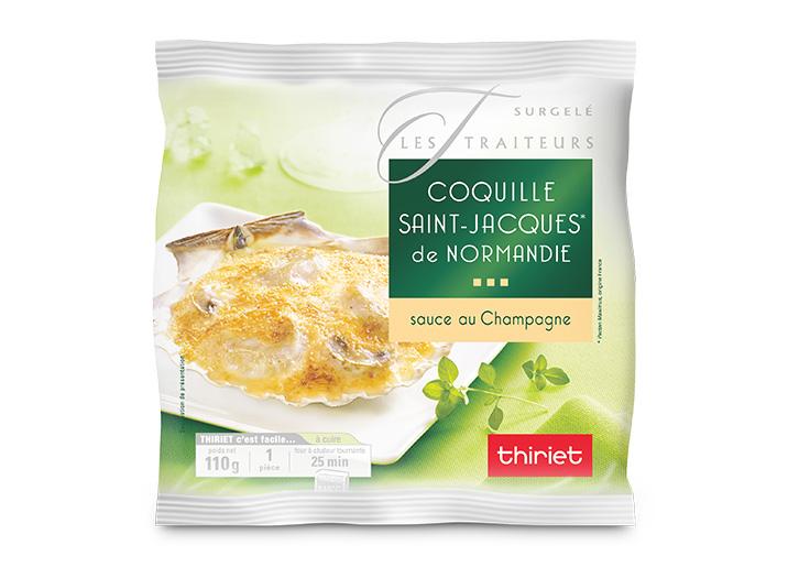 Coquille St-Jacques* de Normandie (noix 50%)