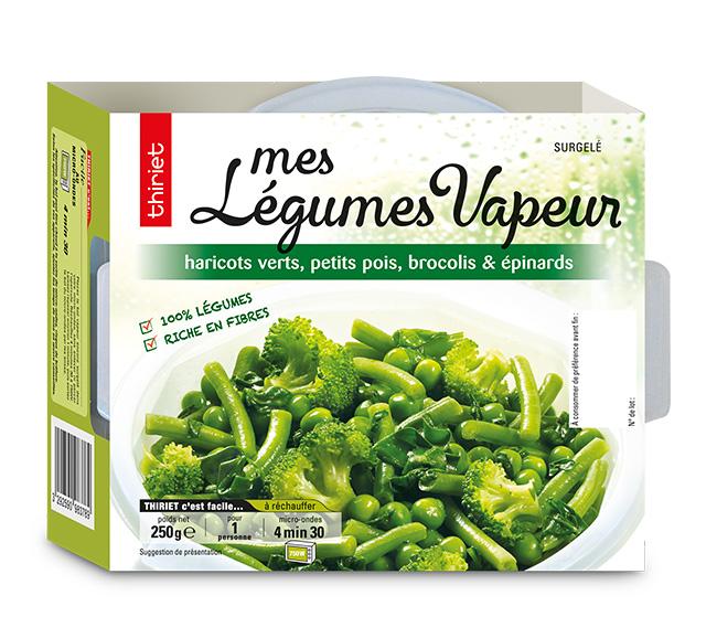Mes légumes vapeur légumes verts