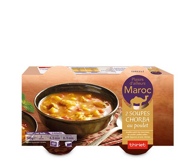 2 Soupes chorba au poulet