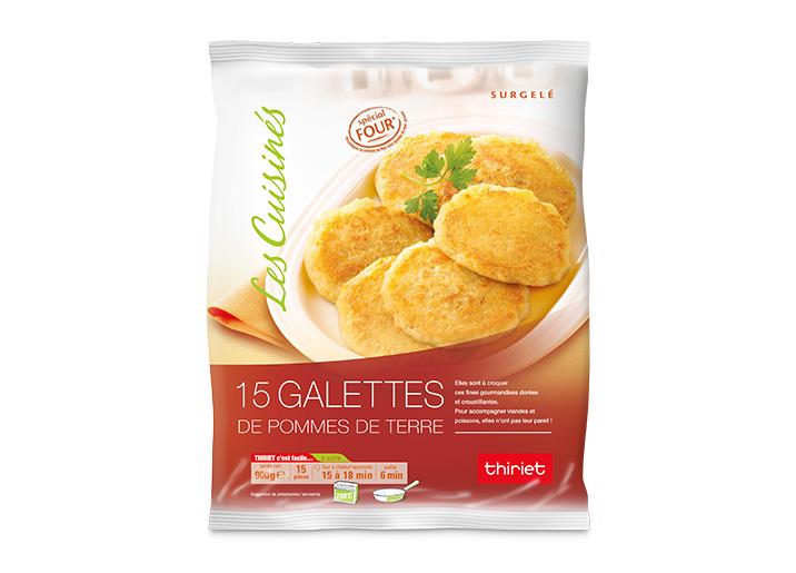 15 Galettes de pommes de terre