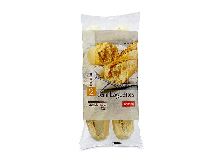 2 Demi baguettes