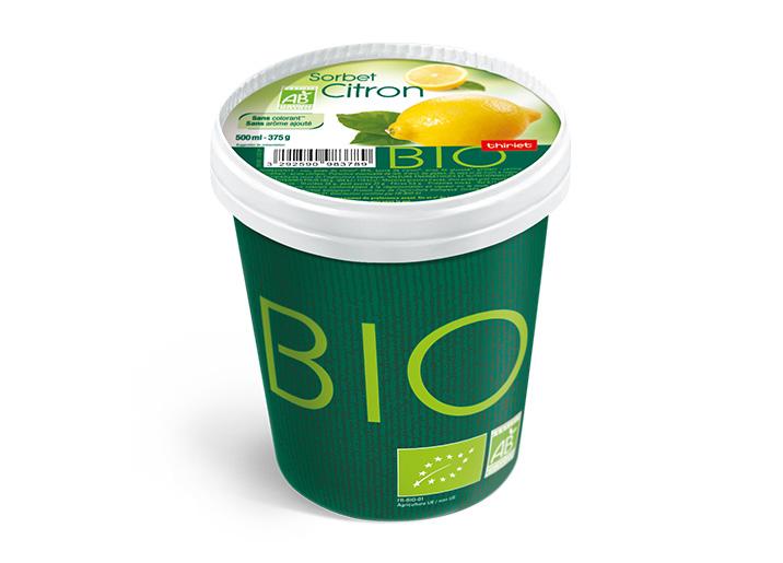 Pot Sorbet Citron biologique