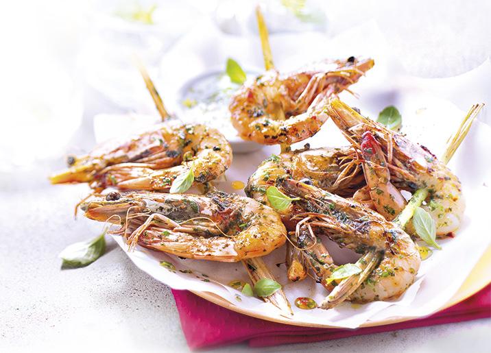 Crevettes entières crues - 16 à 20 pièces