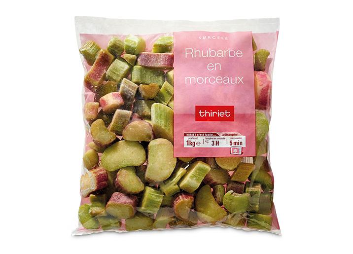 rhubarbe en morceaux surgel gamme pommes de terre l gumes fruits sur thiriet. Black Bedroom Furniture Sets. Home Design Ideas