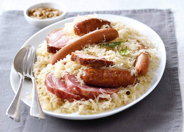 Colis choucroute cuisinée au Riesling