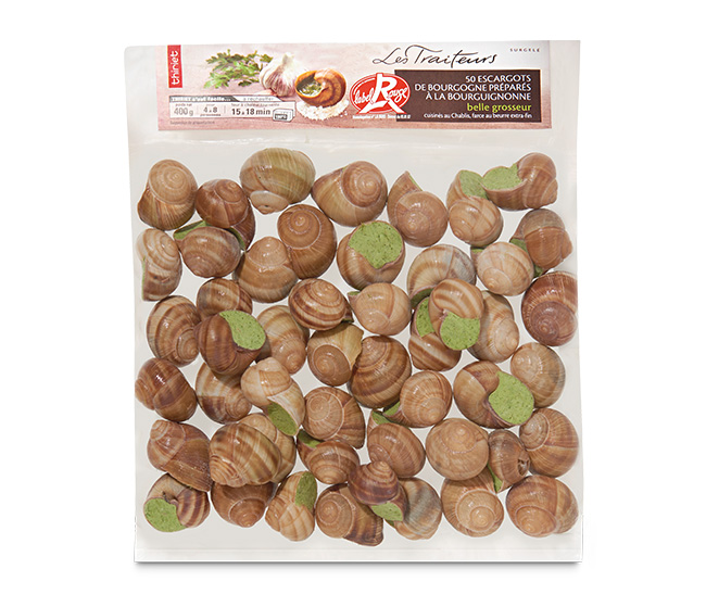 50 Escargots Bourgogne Label Rouge belle grosseur