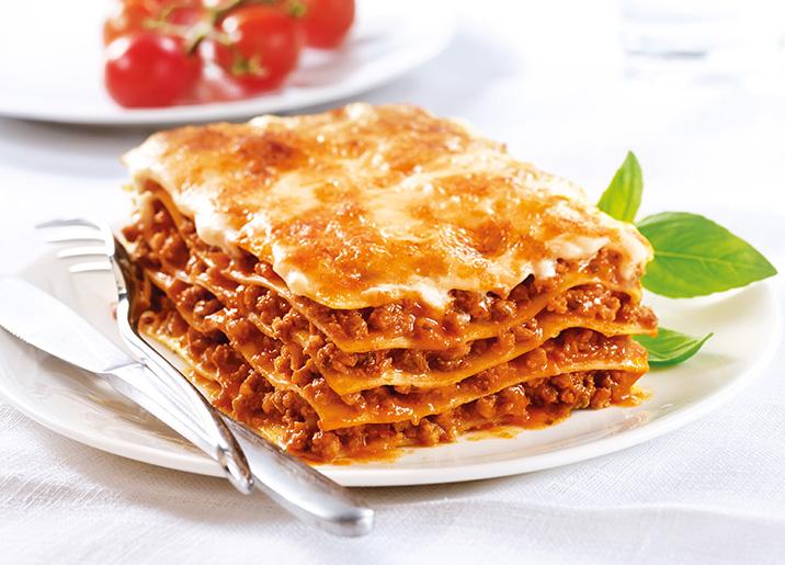 lasagnes la bolognaise surgel gamme plats cuisin s. Black Bedroom Furniture Sets. Home Design Ideas
