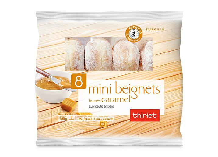 8 Mini beignets fourrés caramel